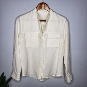 Billy Reid Button Front Top